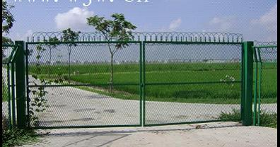 Chain Link Fence For Cantileve Gates From China