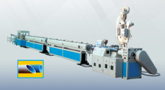PPR hot/cold water pipe extrusion line