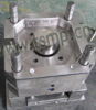 1L round paint pail mould
