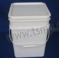 16L round paint pail mould