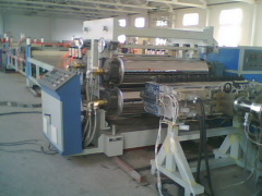 construction template board production line
