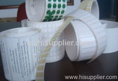 waterproof adhesive labels