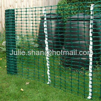 Green Plastic Fencing