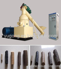 BBQ wood charcoal briquetting machine