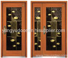 steel-wooden armoured door