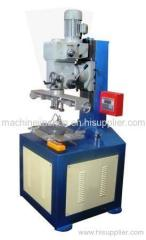 Paper tube/core/can curling and seaming machine