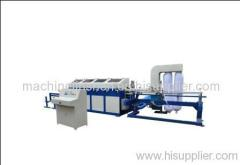 Paper tube and core polishing machine