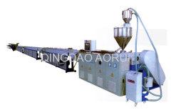 PERT twin pipe production machine
