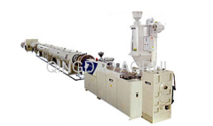 PP twin pipe production machine