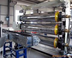 construction template board extrusion machinery