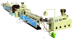 PVC fiber reinforced soft pipe extrusion production line