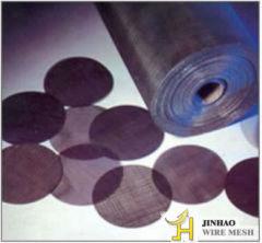 black iron wire cloth