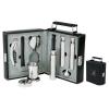 Attache II Bar and Flask Set