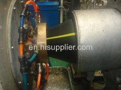 pe water and gas pipe machine