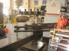 PE steel strip winding pipe production line