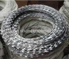 Spiral razor wire