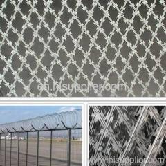 galvanized barbed wire mesh