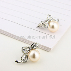 pearl cute earings