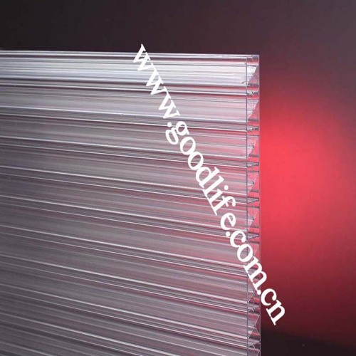 X-profile polycarbonate sheet