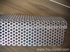 Perofrated metal panels