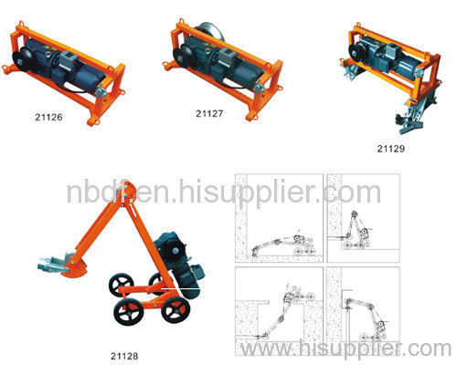 Electric Cable Pulling Winch