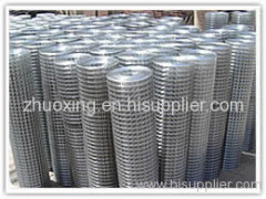 stainless steel reinforcing welded wire mesh