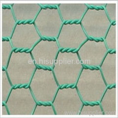 PVC hex. wire mesh