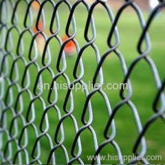 electro gal. chain link fence