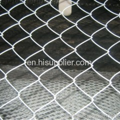 galvanized chain link fence mesh