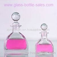 glass perfume diffuser bottle