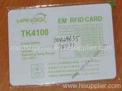 ID Card/TK 4100 card/Smart Card