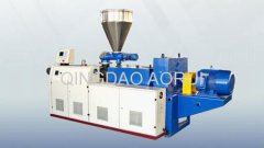 PVC twin pipe extrusion production equipment