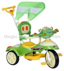 baby tricycle with Spaceship head