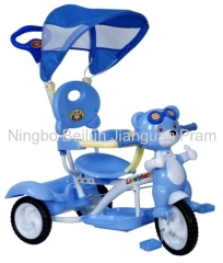 baby tricycle with bear