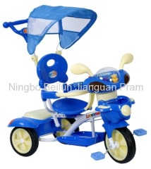 baby tricycle with front basket