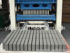 semi-automatic brick making machine