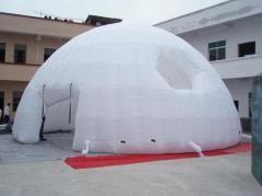 White inflatable igloo