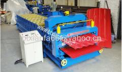 Double Layer Glazed Roof Panel Roll Forming Machine