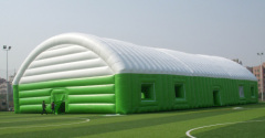 PVC material exhibition inflatable tent