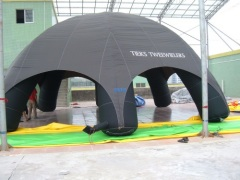 Dome inflatable tent