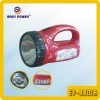 led torch with emergency light function