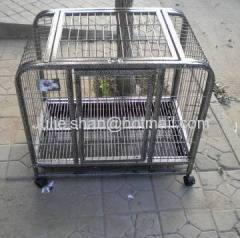 Galvanized pet cage