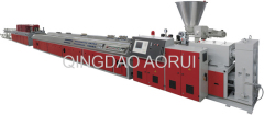PE-RT pipe making extrusion line