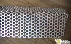 Aluminum hole punching mesh