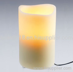 led battery control candle light