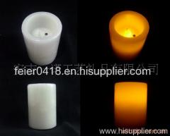 led blow on-off candle light