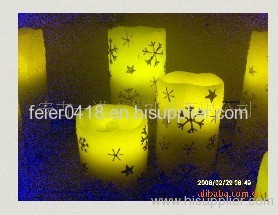 electronic resin candle light