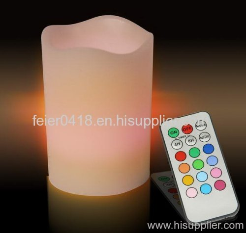electronic remote candle light