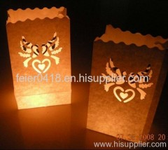 led artistic candle light