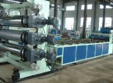 WPC construction template making machine